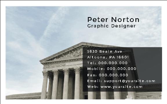 Court Business Card