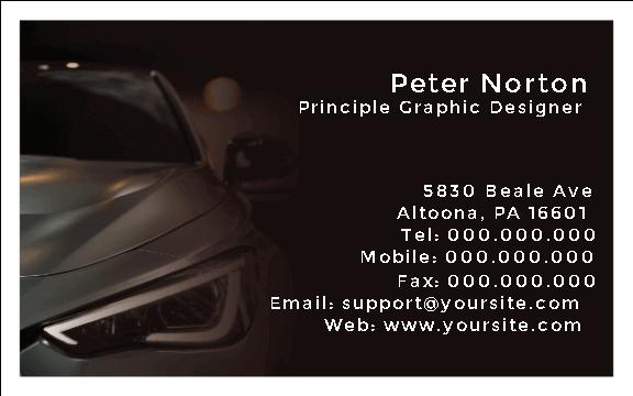 Car Service Card