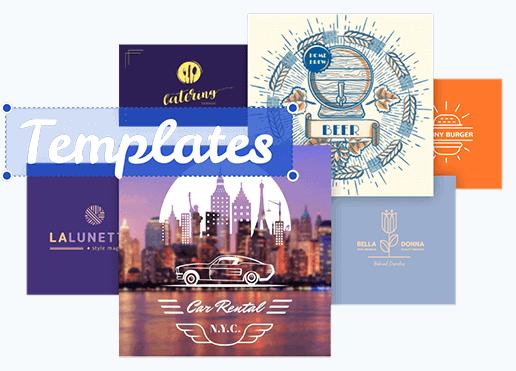 Beautiful logo templates